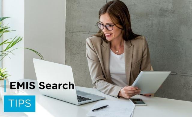 EMIS Search Tips