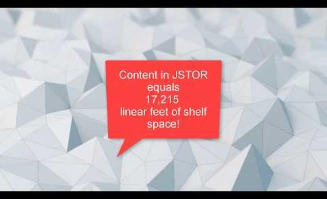 How to search JSTOR