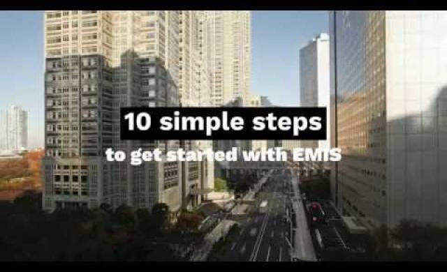 Getting Started with EMIS in 10 simple steps